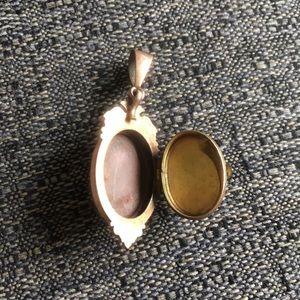 Jewelry - Vintage brass locket from Paris